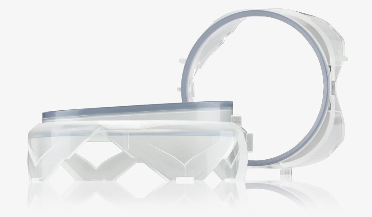 Lichtleiter 1K und 2K (Klimabedienteile Automotive
